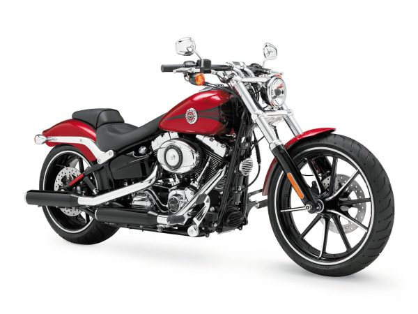 harley-davidson motor company 2013 breakout motorcycle - ride ct