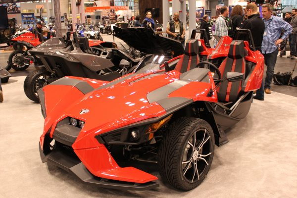 Slingshot : Open-air Roadster - 3 Wheel Motorcycle | Polaris