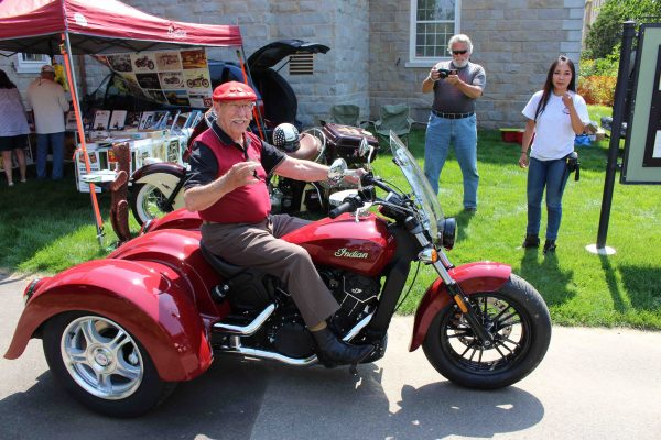 Motorcycle Dealers In Ma >> Indian Day Brings Scout Sixty Trike For Butch Baer