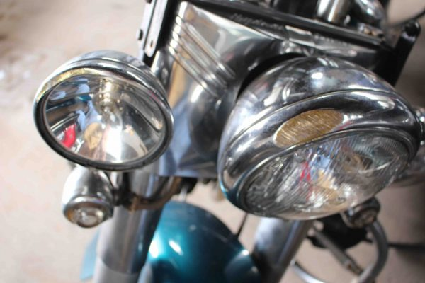 Panhead held up well in crash royals has owned the panhead since roughly 2000 he was aware of the bike and when its winsted owner put it up for sale on the swap shop show on wsng aloadofball Gallery