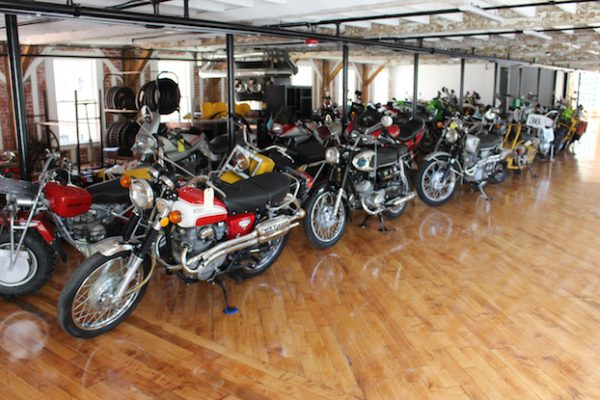 New England Motorcycle Museum In Home Stretch